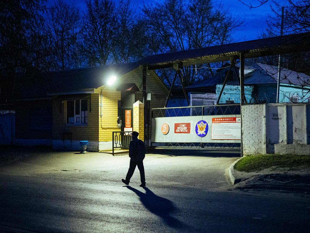The IK-3 penal colony where jailed Kremlin critic Alexei Navalny was reportedly transferred. Picture: Dimitar Dilkoff/AFP