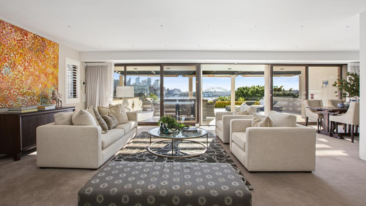 It has iconic views and an $8m price guide.