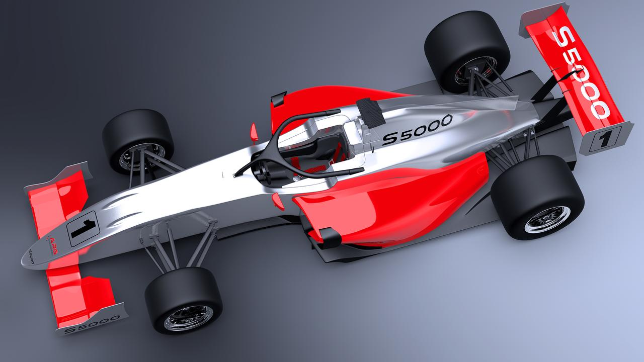Rendering of the new S5000 chassis.