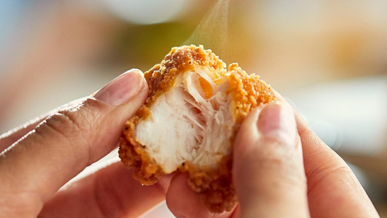 Macca's used more than 15.7 million kilograms of chicken in 2019. Picture: McDonald's