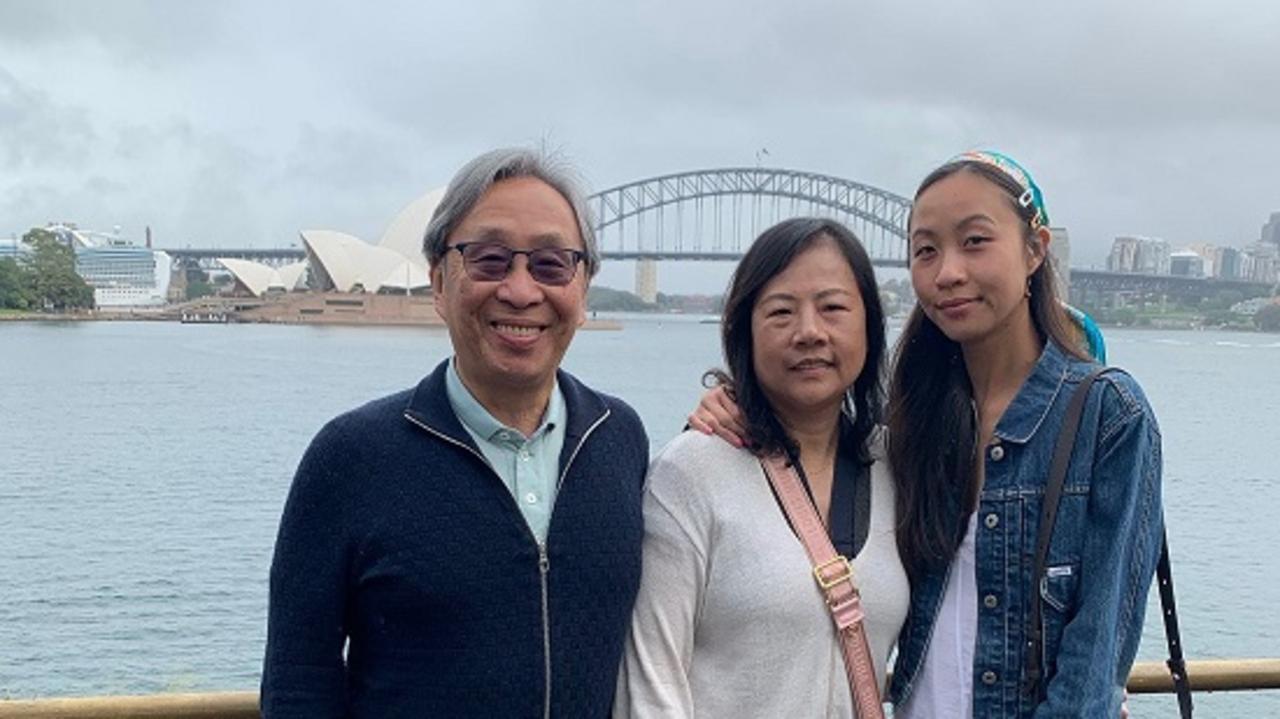 Chung Chen and his wife Juishan Hsu, and daughter, Vivian.