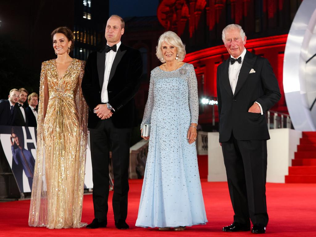 Glitzy movie premieres with the in-laws, what a different life they lead. Picture: Chris Jackson/Getty Images