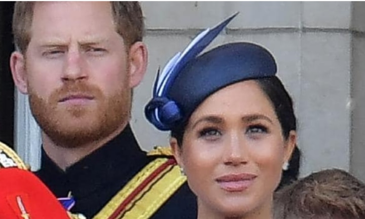 Did Prince Harry tell Meghan to 'turn around'?