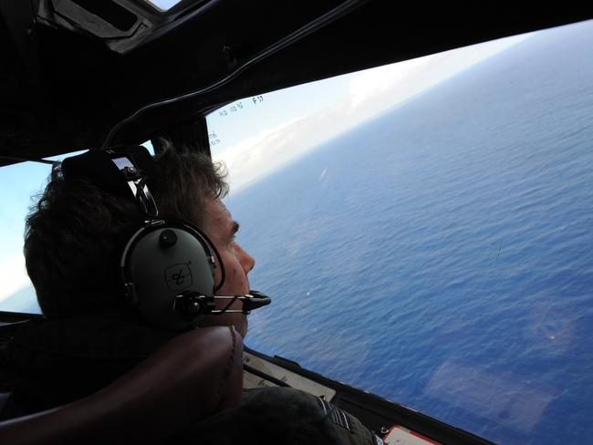 The earlier hunt for MH370.