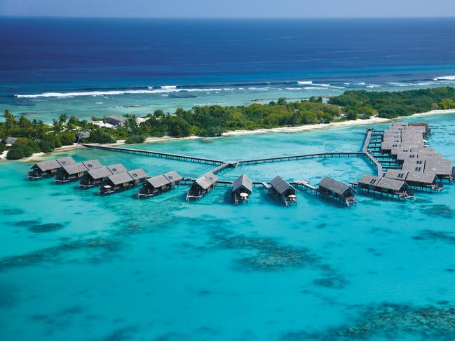MALDIVES 6-DAY PACKAGE, $3745 You can't go wrong with a five-night stay at five-star Shangri-La Villingili Resort & Spa in the Maldives, reduced by 36 per cent and now priced from $3745 a person, twin share. Relax in a Private Pool Villa and also receive breakfast and dinner daily at Javvu restaurant, a Villingili eco tour, return domestic flight from Malé Airport to Gan Airport and speedboat transfers. Offer valid for travel from April 20 to September 30, 2020, and is on sale until January 31, 2020. vivaholidays.com.au