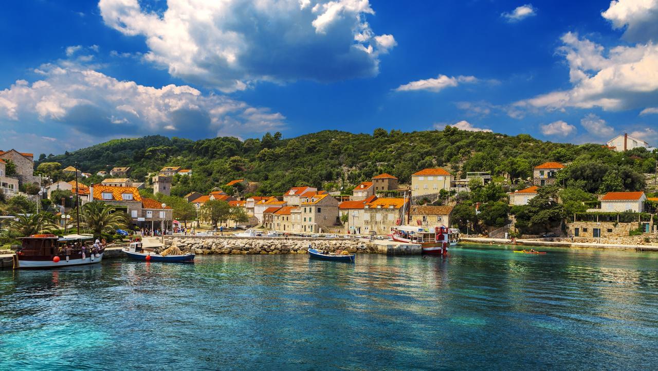 Quiet surprise: The island of Sipan, off Dubrovnik, in Croatia.