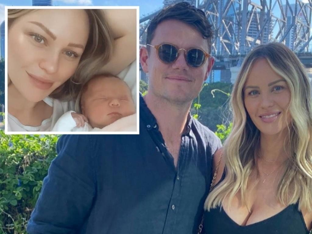 Brisbane Lions midfielder Lachie Neale is a father.