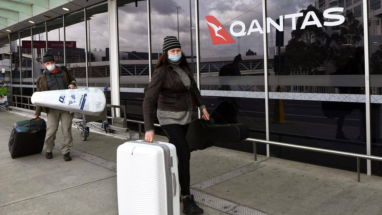 Qantas has extended its partnership with Emirates for another five years. Picture: William West/AFP