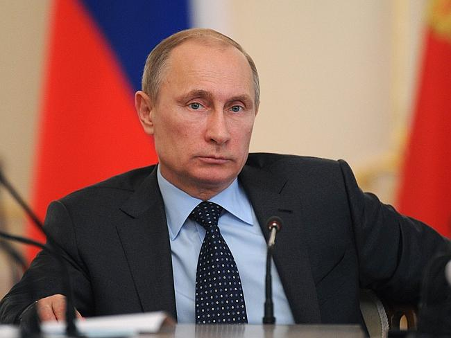 No sex for you ... organisers say the sex strike is aimed at Russian President Vladimir P