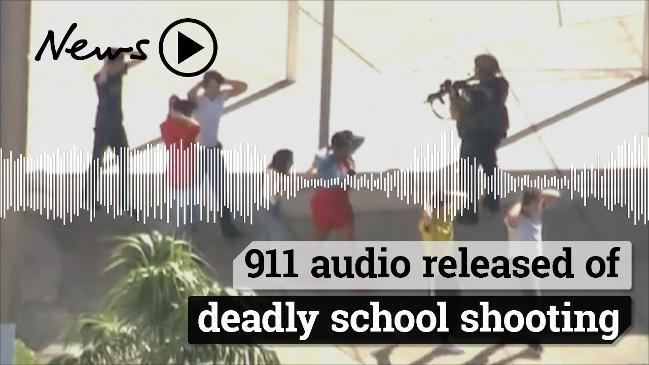 911 audio released of deadly school shooting