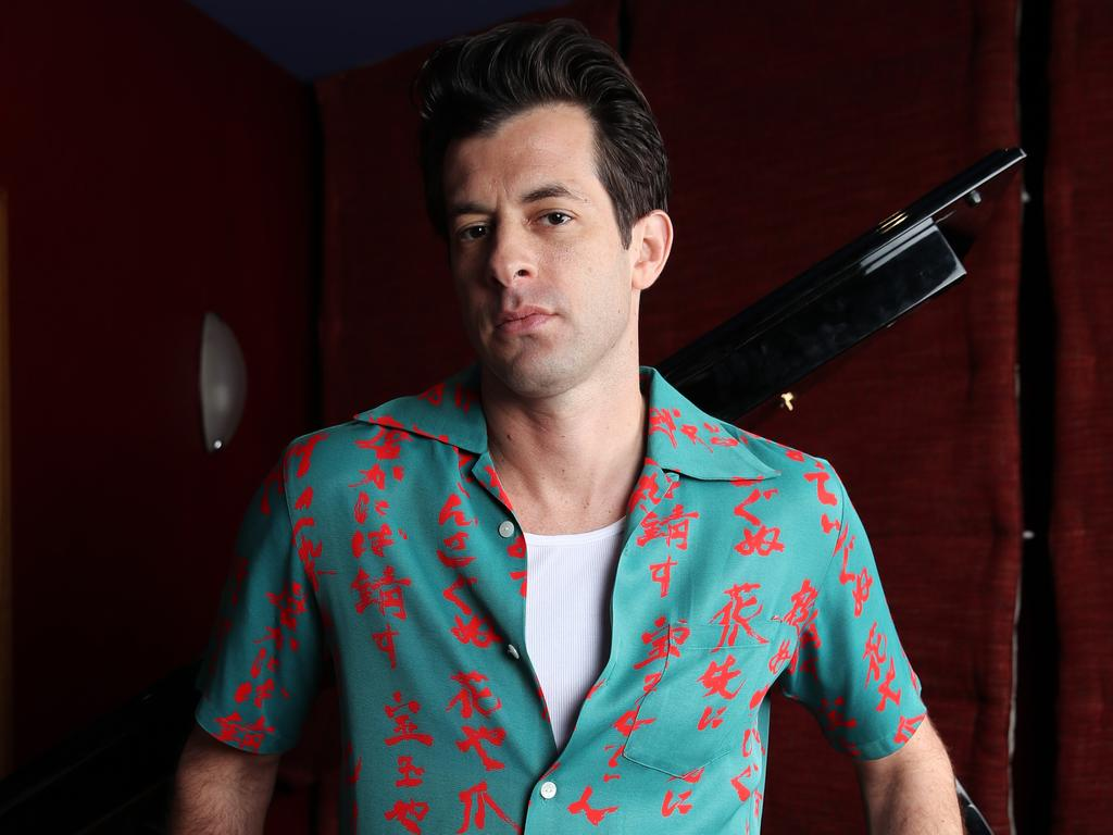Mark Ronson recently dropped a video mixtape, <i>Love Lockdown</i>. Picture: David Swift.
