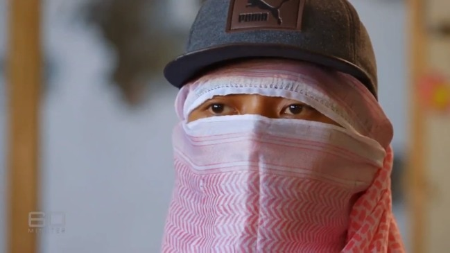 IS fighter on our doorstep 'ready to kill Australians' (60 Minutes)