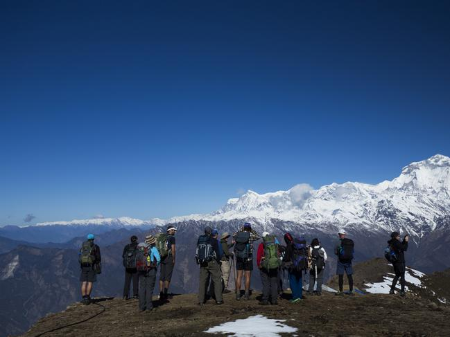 NEPAL, 16-DAY PACKAGE, $2840 World Expeditions have discounted a range of adventure trekking holidays by up to $400 a person when you book before March 14, 2020. For example, the 16-day Ultimate Annapurna Dhaulagiri trip is now priced from $2840 a person and includes a trek to the Kopra Ridge for views of the peak of Dhaulagiri. You receive all meals on trek, internal flights, transfers, services of expert guides, porter's insurance, accommodation in a combination of eco lodges and campsites, all permits and fees. worldexpeditions.com
