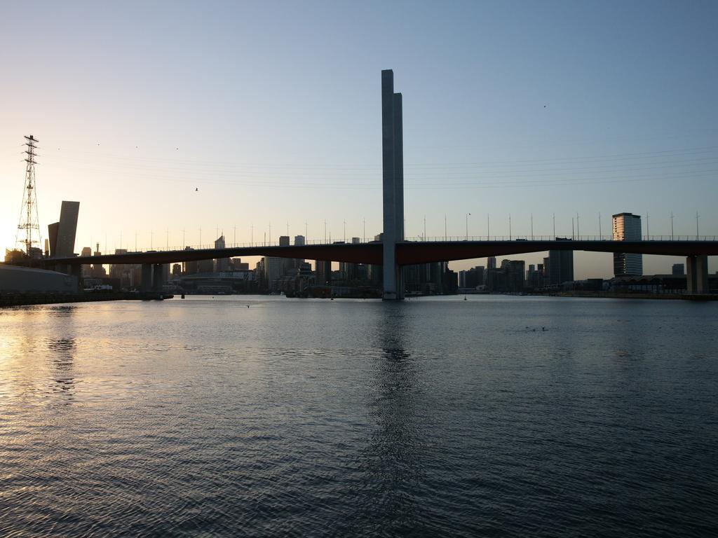 A view of the Bolte Bridge.