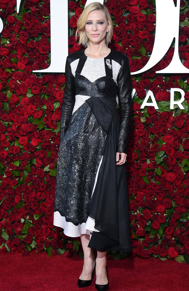 Cate Blanchett attends the 70th Annual Tony Awards at The Beacon Theatre in New York City.