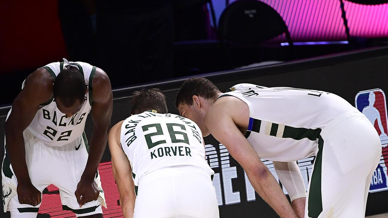 The Bucks are gone. (Photo by Douglas P. DeFelice/Getty Images)