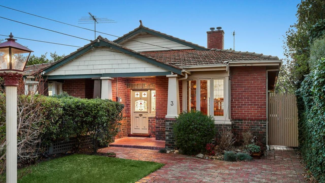 3 Glencoe Street, Caulfield North, is on the market for $1.46m-$1.6m.