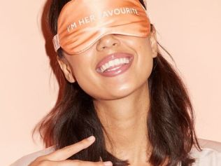 When your eye mask gives away the game. Image: Go-To