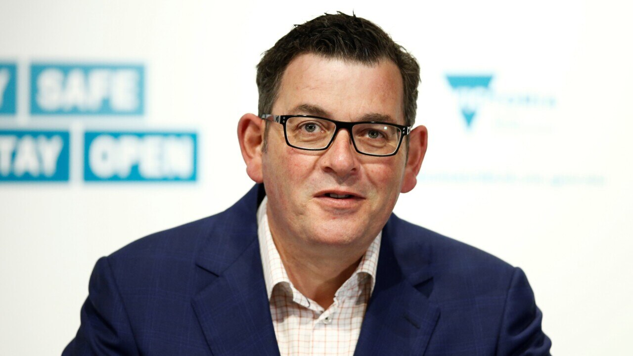 Andrews government developing own contact-tracing 'political posturing'