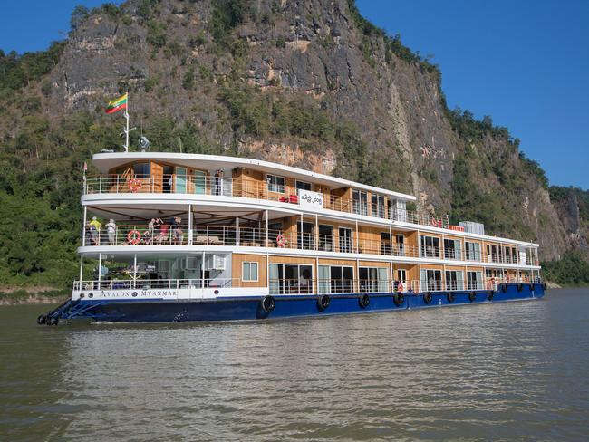 AVALON MYANMAR One of Avalon Waterways' suite ships, the all-suite Avalon Myanmar offers small-ship luxury along the Irrawaddy. The pioneering design allows Avalon to cruise the spectacular Upper Irrawaddy on each departure, a feat not possible on any other ship. Opt to view the scenery from the open-air observation lounge or the airconditioned Panorama Lounge.