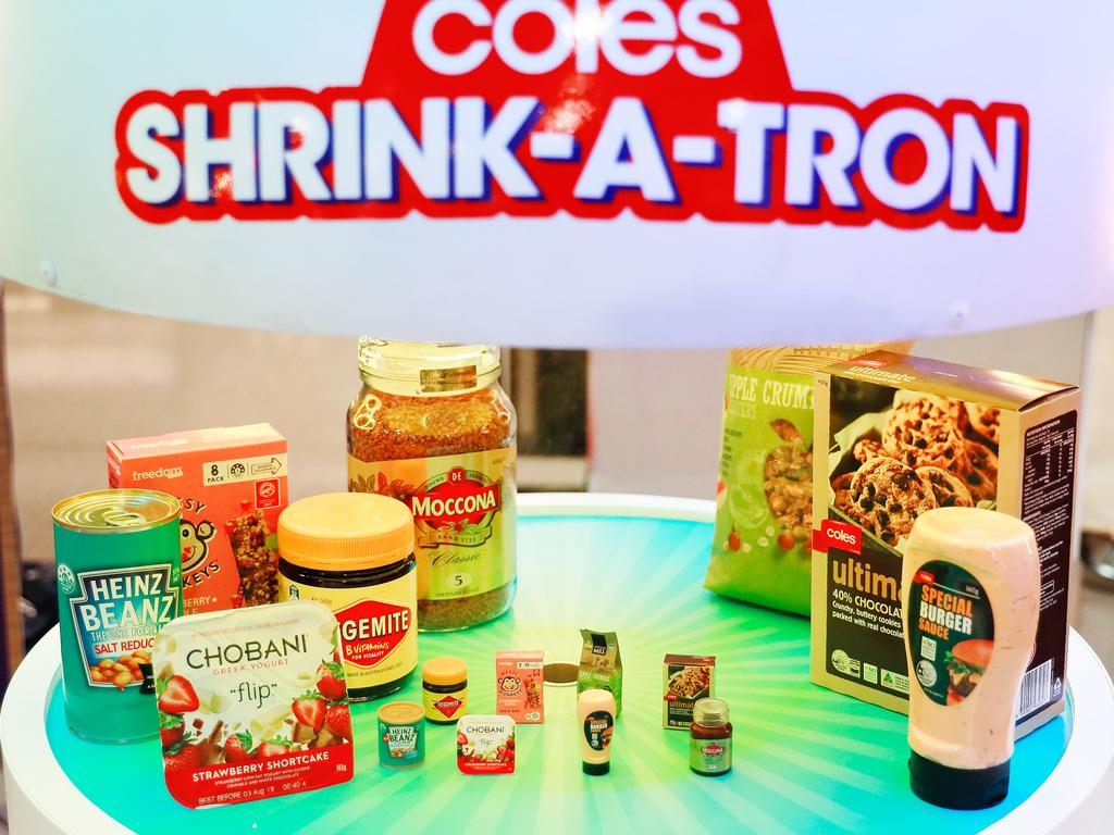 The second collection of Coles Little Shop mini collectables will be available from today. Picture: Getty Images for Coles