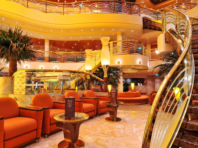 Inside the MSC Poesia. Picture: Alexander Baxevanis