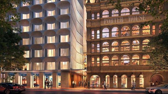 8/10The Porter House Hotel, NSW You may have to wait until late 2021, but when The Porter House Hotel MGallery by Sofitel opens on Sydney's Castlereagh Street, Hyde Park may start to feel like Manhattan's Central Park. Interweaving the 1870s heritage-listed Porter House, with its iconic scalloped windows, into the new hotel and Castle Residences, expect a gorgeous collision of heritage and modern design.