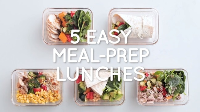 5 easy meal prep lunches