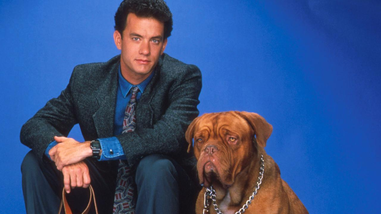 Tom Hanks in Turner and Hooch. Picture: Alamy