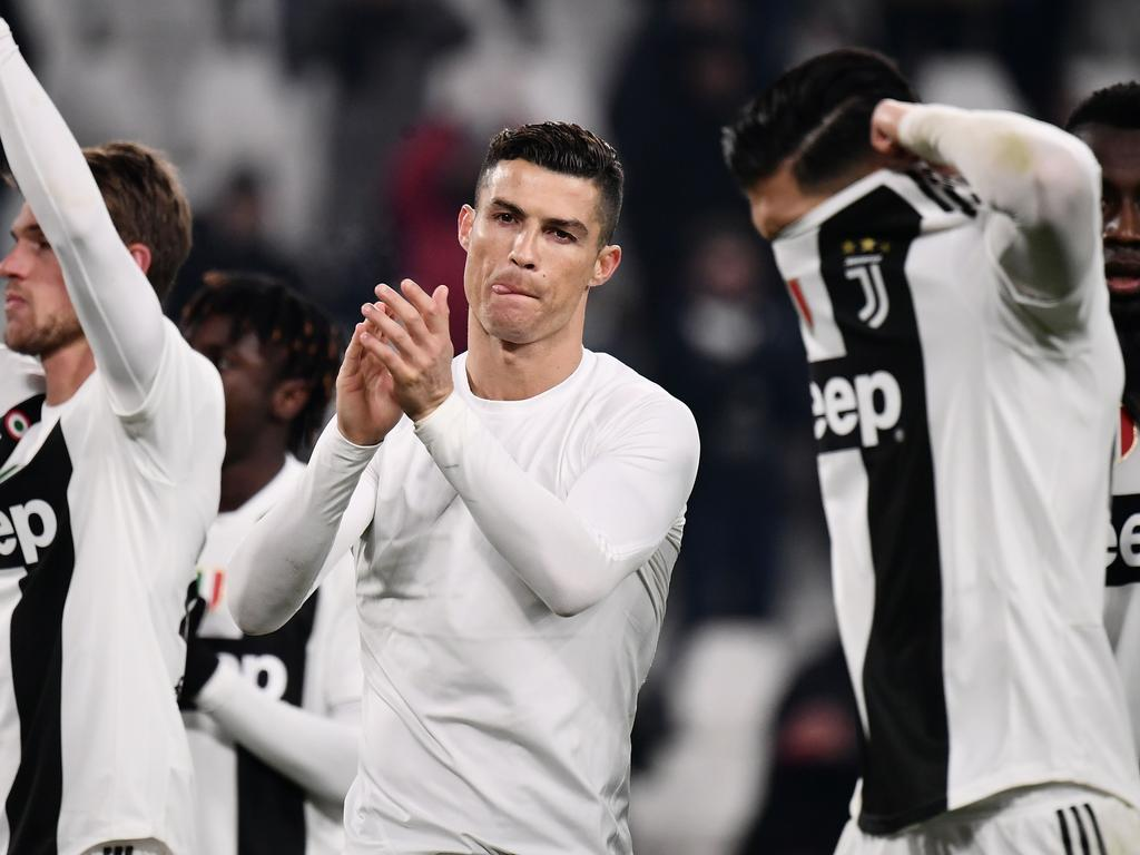 Ronaldo's tax problems are behind him.