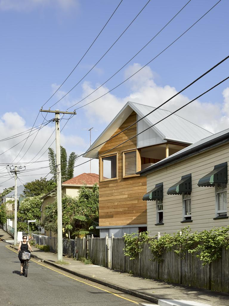 The home was a historic Queenslander.