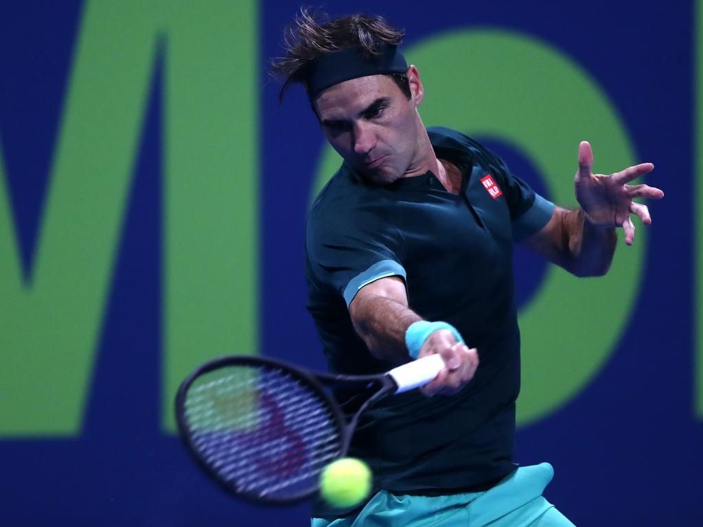 We saw some vintage Federer in his first match back.