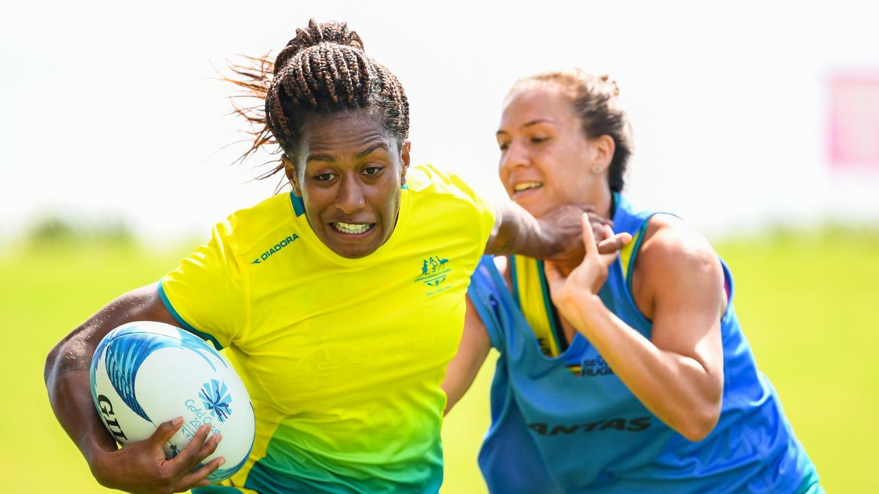 The Australian women's team will be going for gold this weekend.  Photo: RUGBY.com.au/Stuart Walmsley
