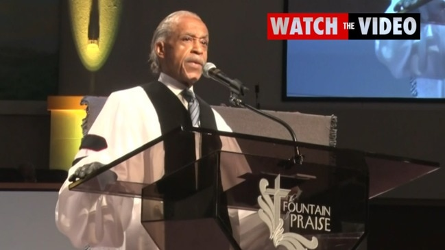 """Al Sharpton slams Trump: """"What about the human rights of George Floyd?"""""""