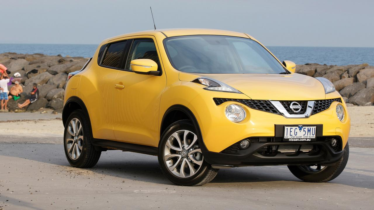The Nissan Juke has a spare tyre but no way of changing it. Picture: Supplied
