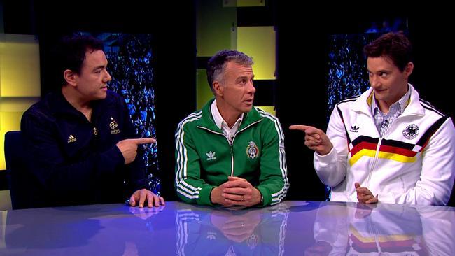 Sam Pang, Santo Cilauro and Ed Kavalee on Santo, Sam and Ed's Total Football.