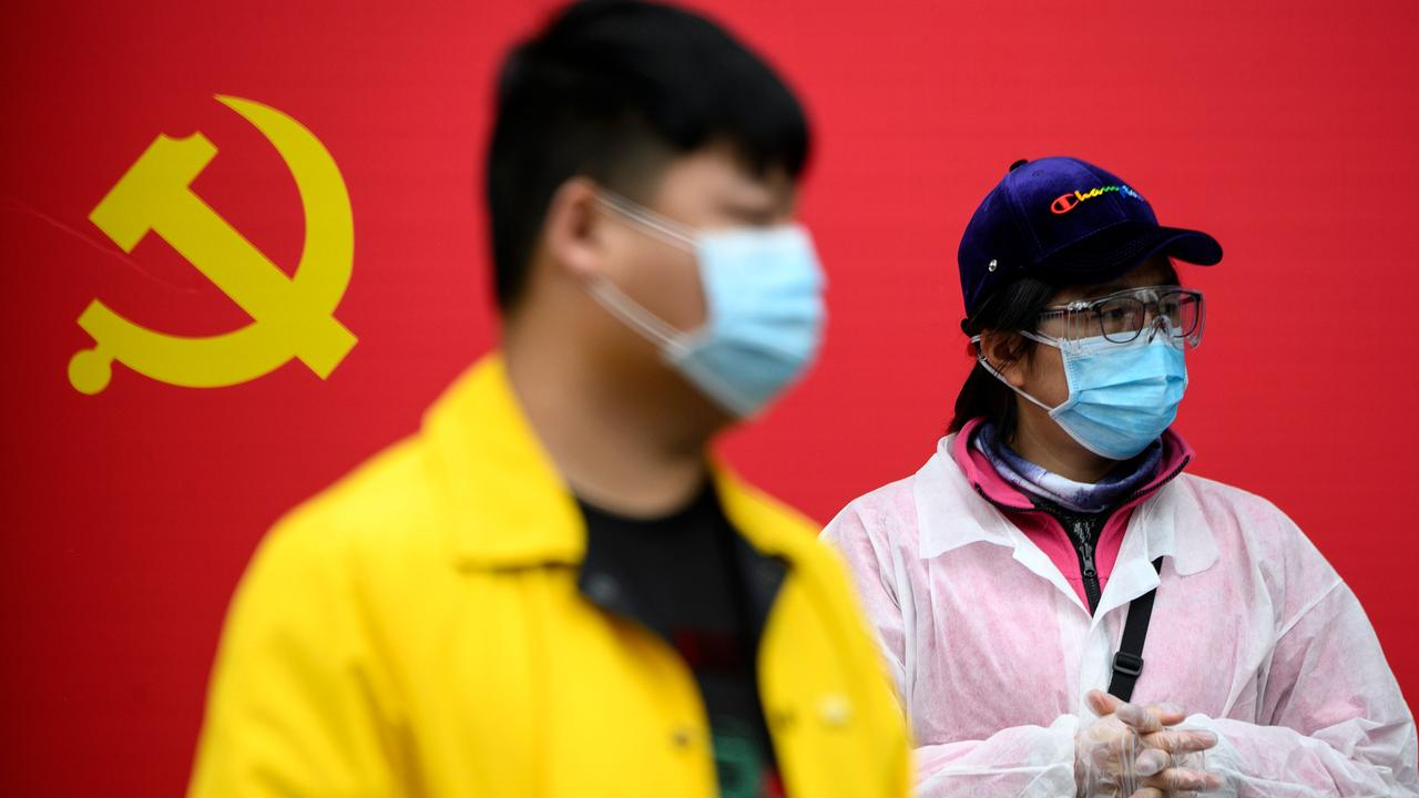 China is now recording only occasional outbreaks of COVID-19. Picture: Noel Celis/AFP