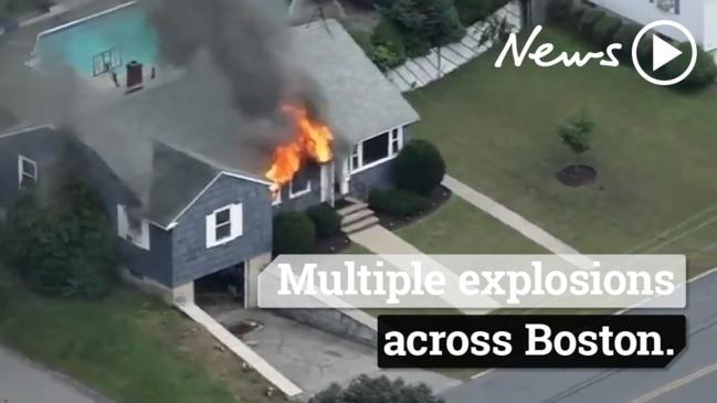 Multiple explosions across Boston Massachusetts