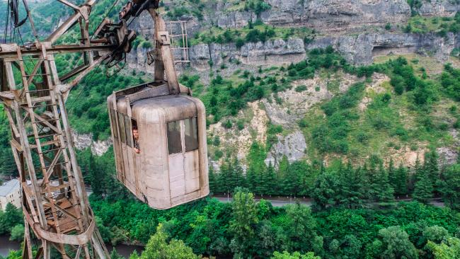 Would you take a ride?Picture: Ioanna Sakellaraki/Barcroft Im/Barcroft Media via Getty Images See also:- Where to go to experience the dark tourism trend- These once glorious abandoned resorts are now creepy as hell  /  - New photos emerge from deep inside Chernobyl's exclusion zone