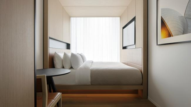 """""""We wanted to ensure this hotel felt refined and understated, without compromising on quality and space,"""" says Bates Smart director, Guy Lake."""