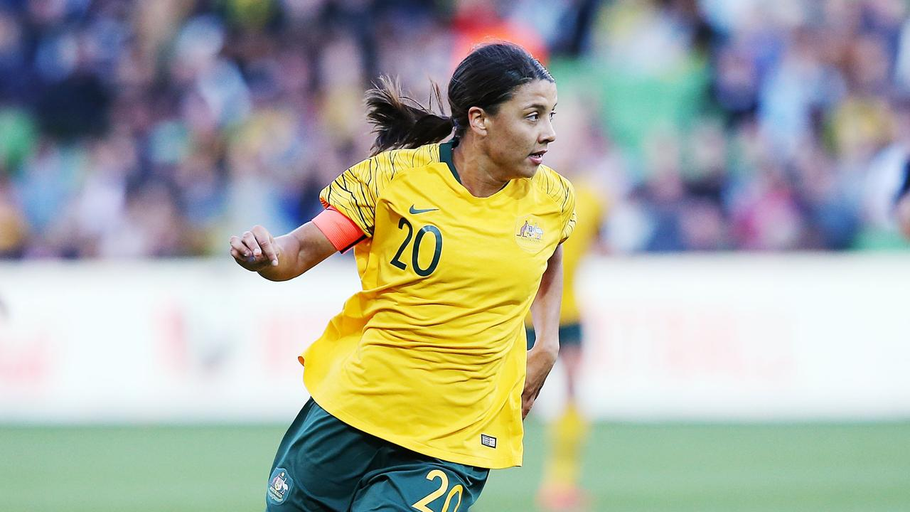 Sam Kerr has finished third in the BBC Women's Footballer of the Year Award