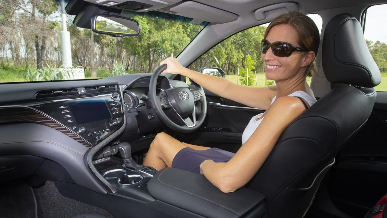 The Camry SL is ideal for chewing up big kilometres on the motorway.