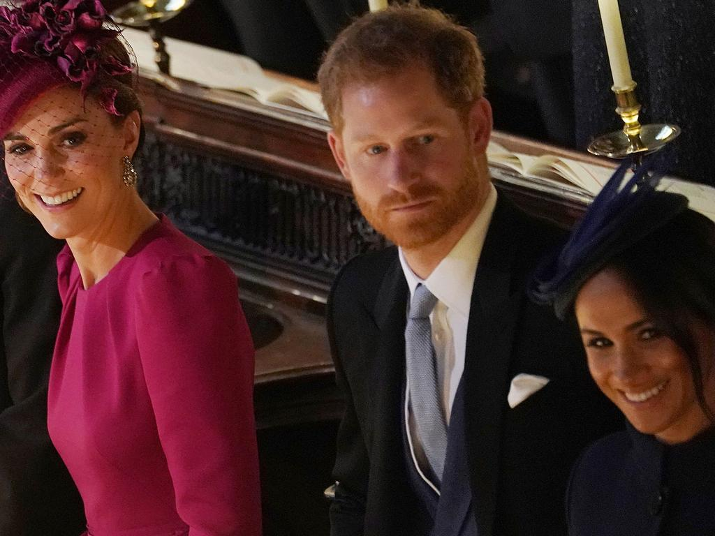 Eugenie was reportedly upset over Harry and Meghan's decision to tell the royals about their baby news on the day of the wedding.