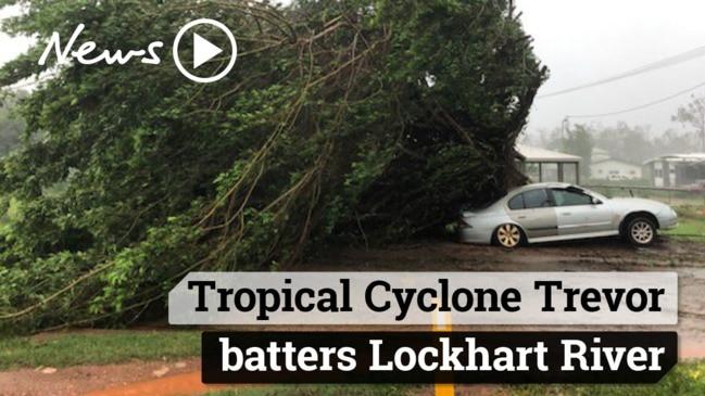 Tropical Cyclone Trevor batters Lockhart River