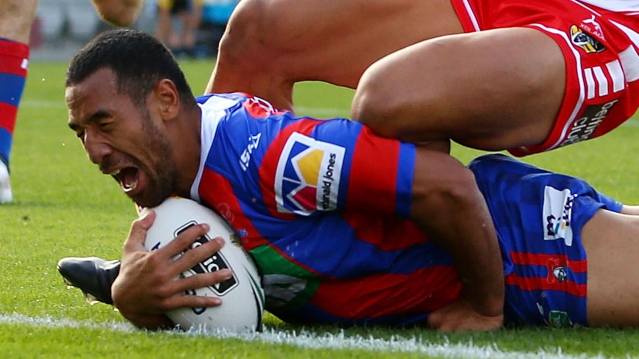 Tautau Moga of the Knights has been charged with common assault.