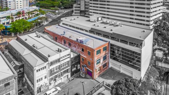 This property at 126 Wickham St, Fortitude Valley, has sold for $2.7 million.