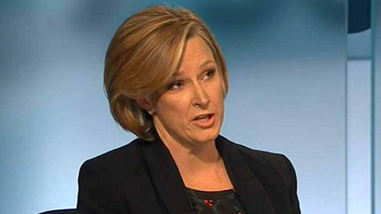 Leigh Sales was not happy with Dan Tehan's answers.