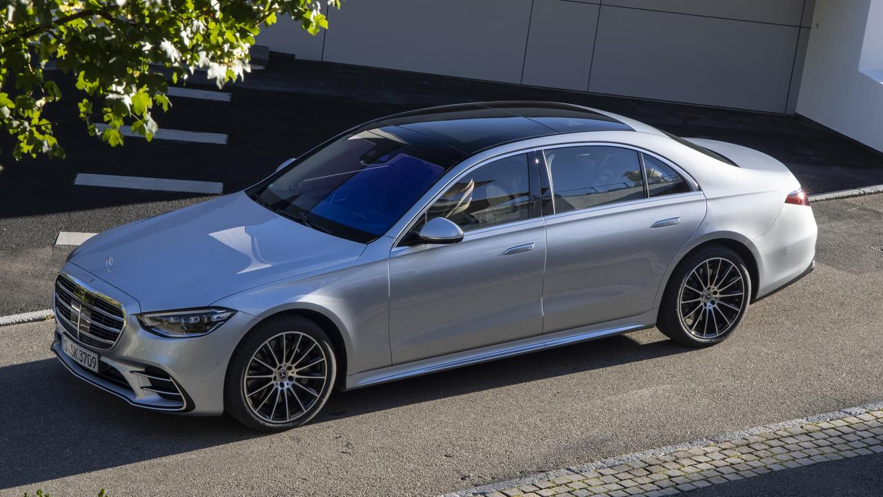 Mercedes-Benz's new S-Class uses lots of recycled materials.
