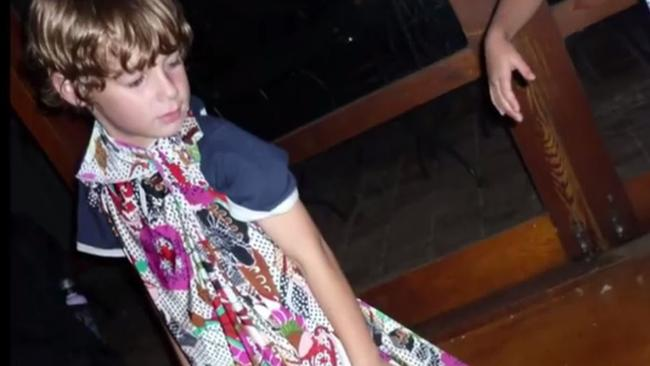 As a youngster, Patrick asked his mum could he be turned into a girl, Alison says. Picture: Channel 9
