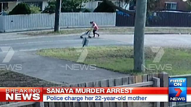 CCTV captures Sofina Nikat walking to the park